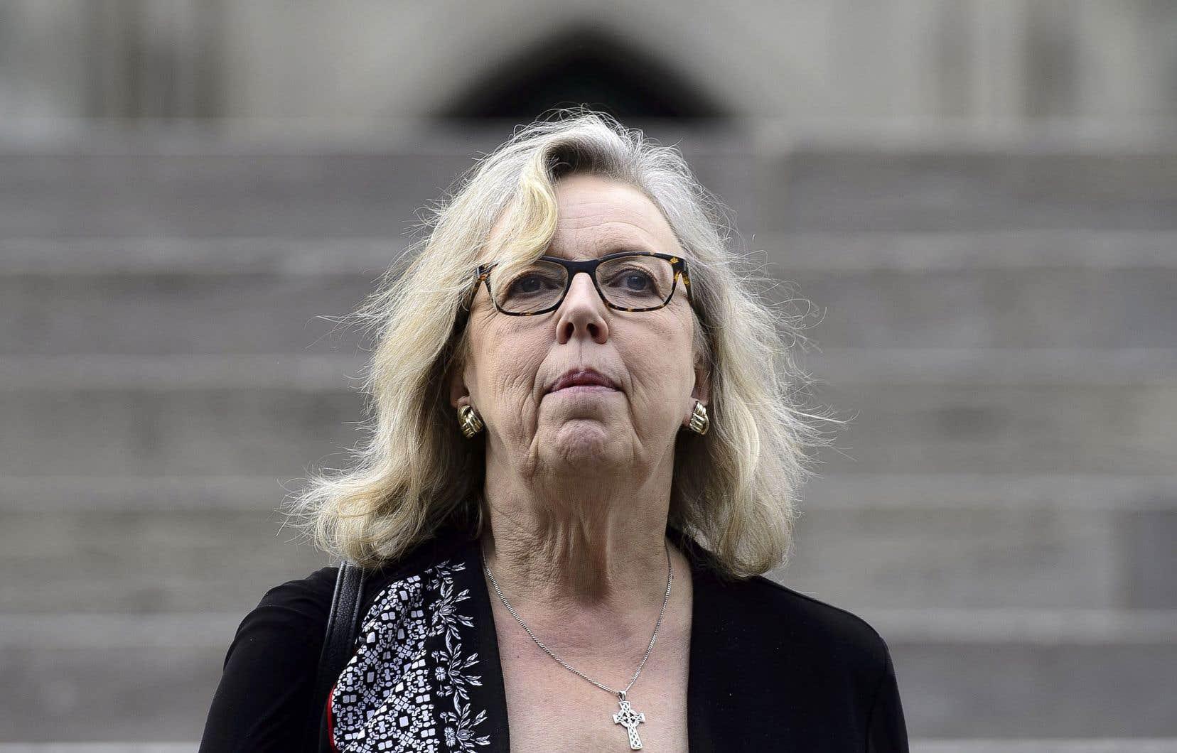 La chef du Parti vert, Elizabeth May, croit qu'une nouvelle ferveur chez les Canadiens favorise sa formation politique.