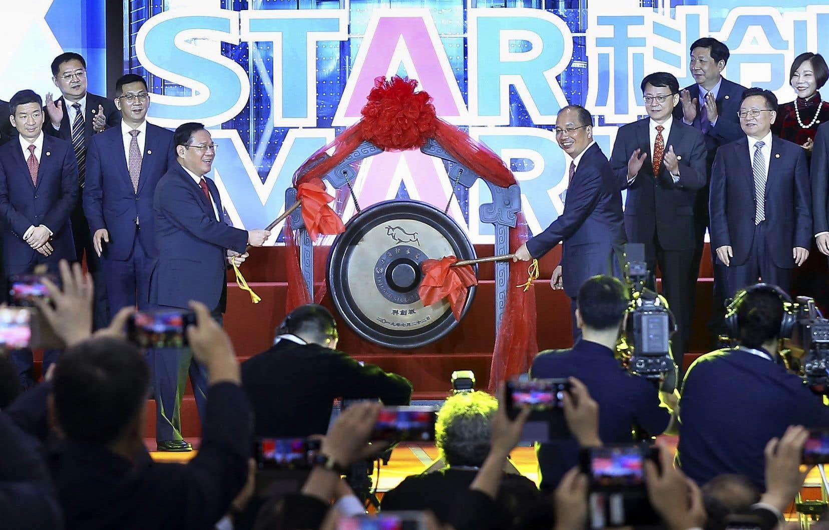 La cérémonie d'inauguration de STAR Market a eu lieu à Shanghai.