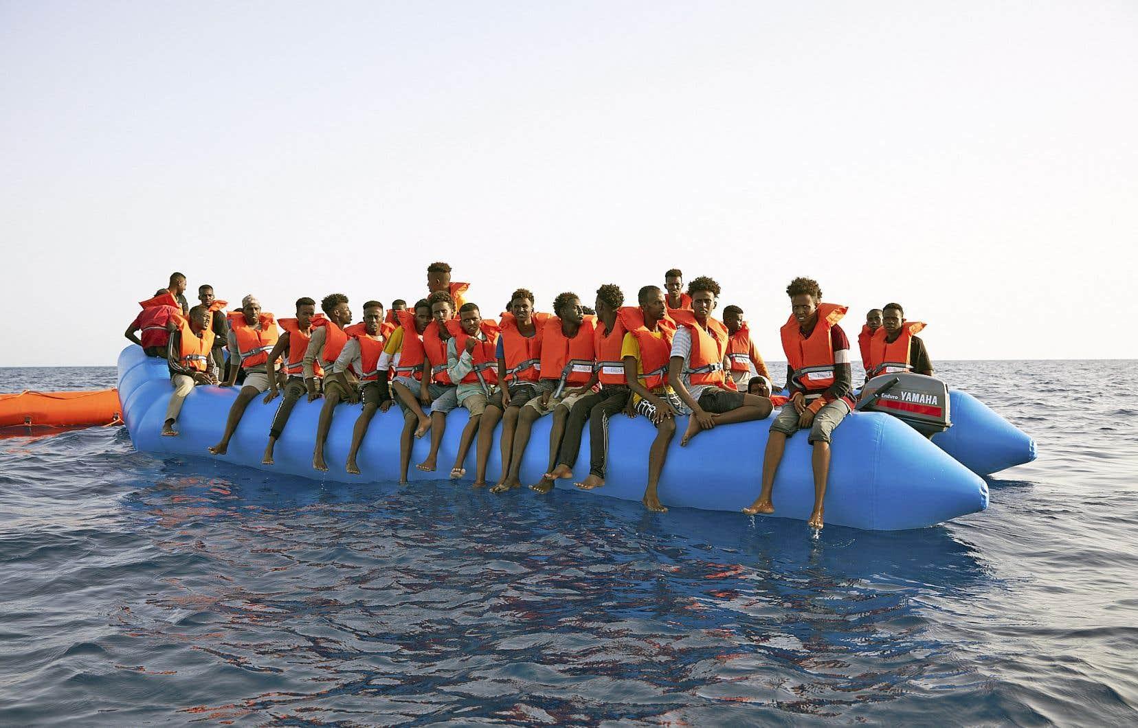 Plus de 113000 migrants ont traversé la mer pour gagner les côtes des pays méditerranéens en 2018, en forte baisse par rapport à l'an dernier (172301), selon les chiffres publiés par le Haut-commissariat des Nations unies pour les réfugiés sur son site Internet.