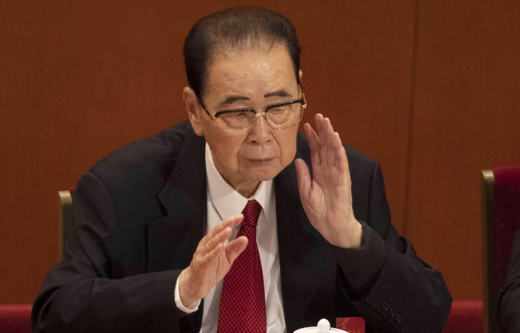 Li Peng est mort lundi «des suites d'une maladie».