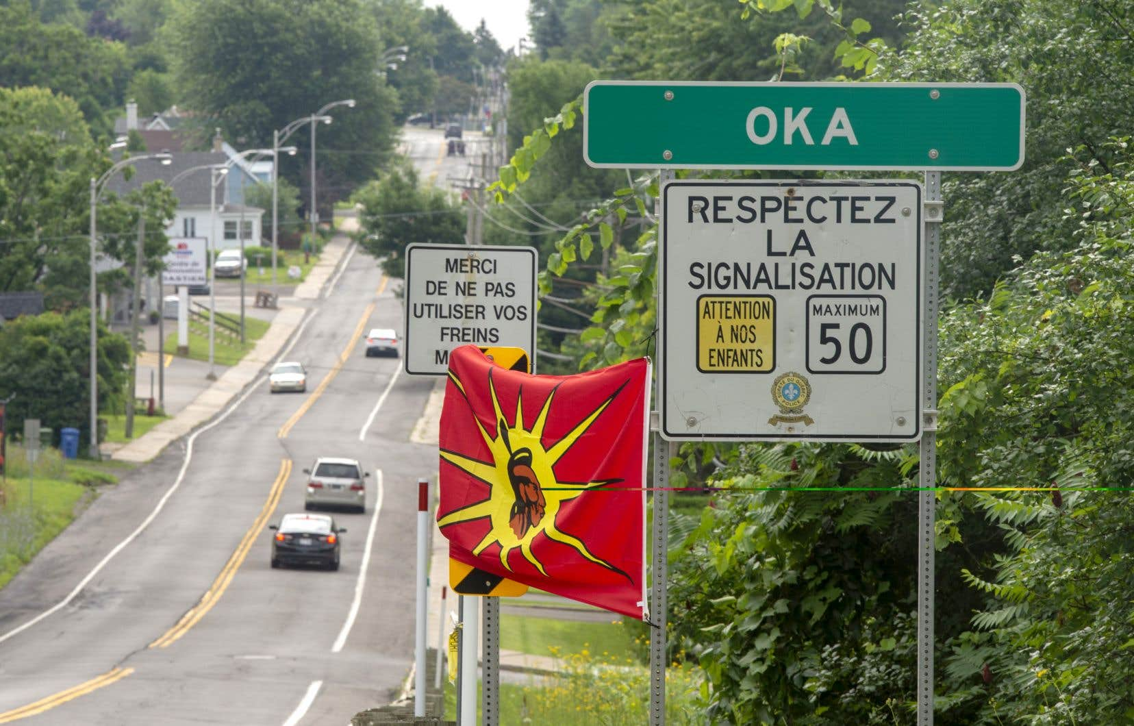 Des représentants de la municipalité d'Oka et de la communauté de Kanesatake vont se rencontrer vendredi.