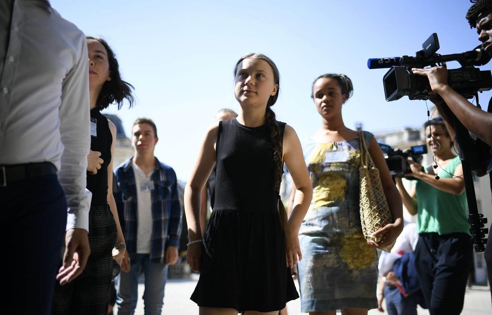 La jeune militante suédoise Greta Thunberg