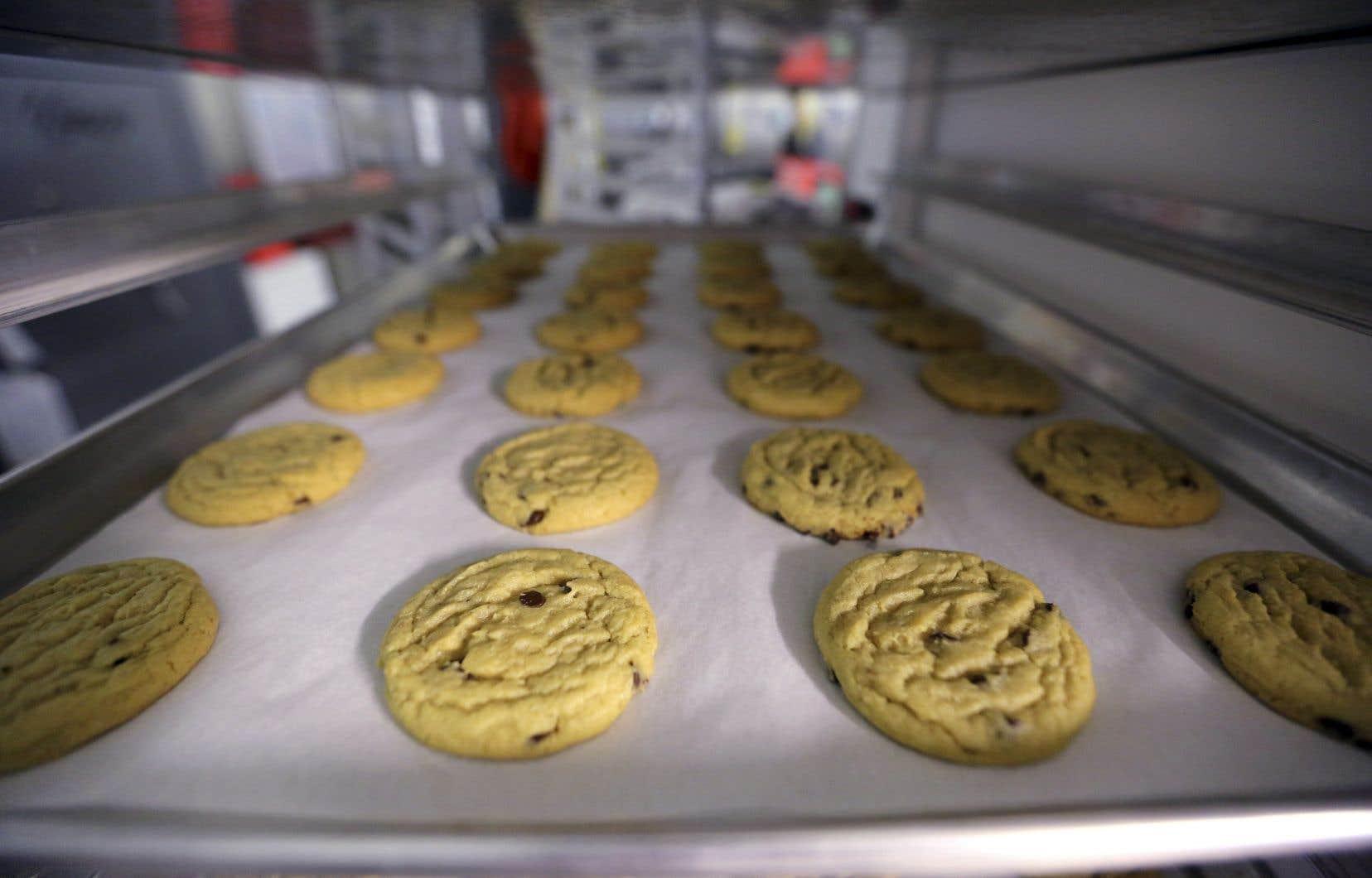 Des biscuits au cannabis préparés par une boulangerie à Denver, au Colorado