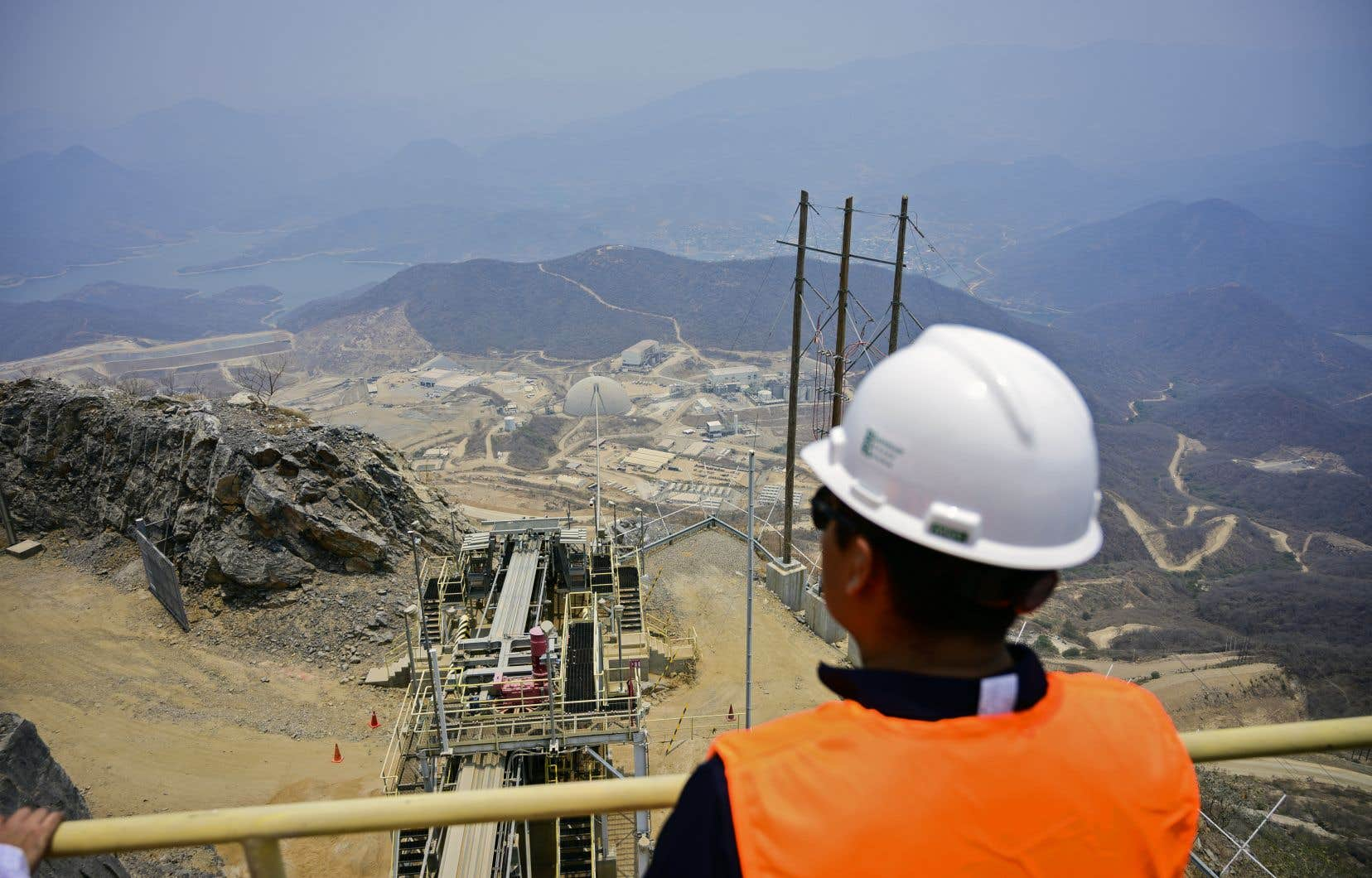 Des entreprises minières canadiennes œuvrant à l'étranger ont souvent fait l'objet de plaintes. Ici, une mine d'or exploitée par une société canadienne à Cocula, au Mexique.