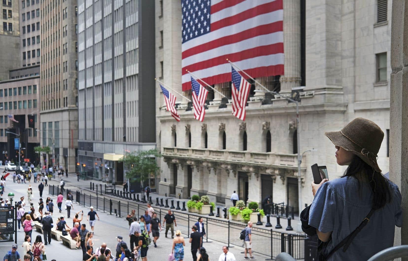Les incertitudes autour de la guerre commerciale avec la Chine ont porté un coup à la croissance américaine.