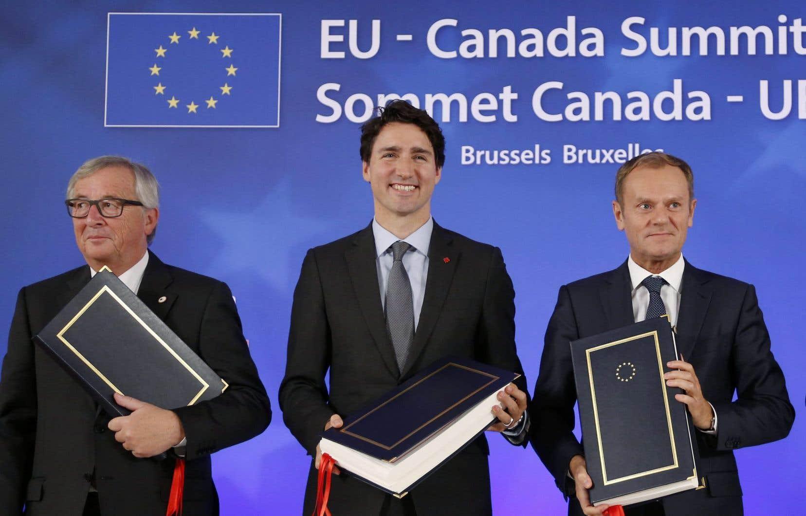 «L'AECG s'inscrit ainsi dans la tendance globale de multiplication des engagements environnementaux dans les accords de commerce», affirme l'auteure.