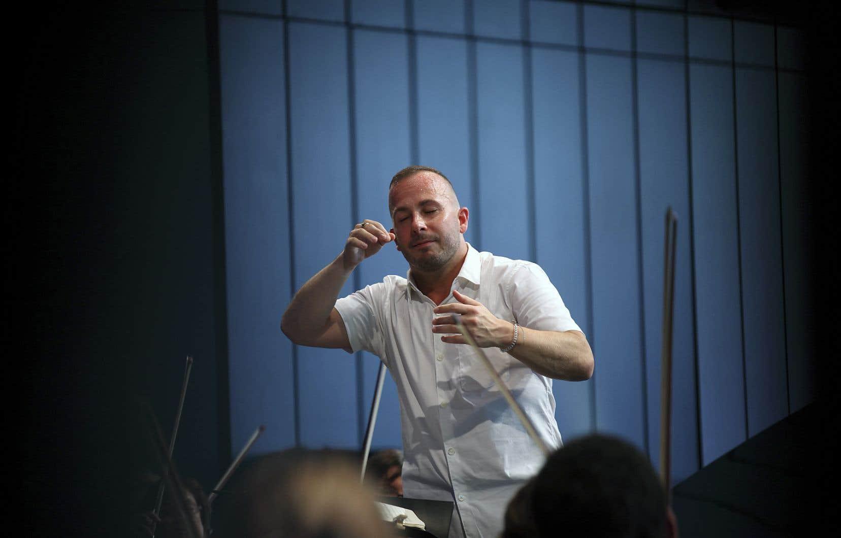Le chef d'orchestre,Yannick Nézet-Séguin