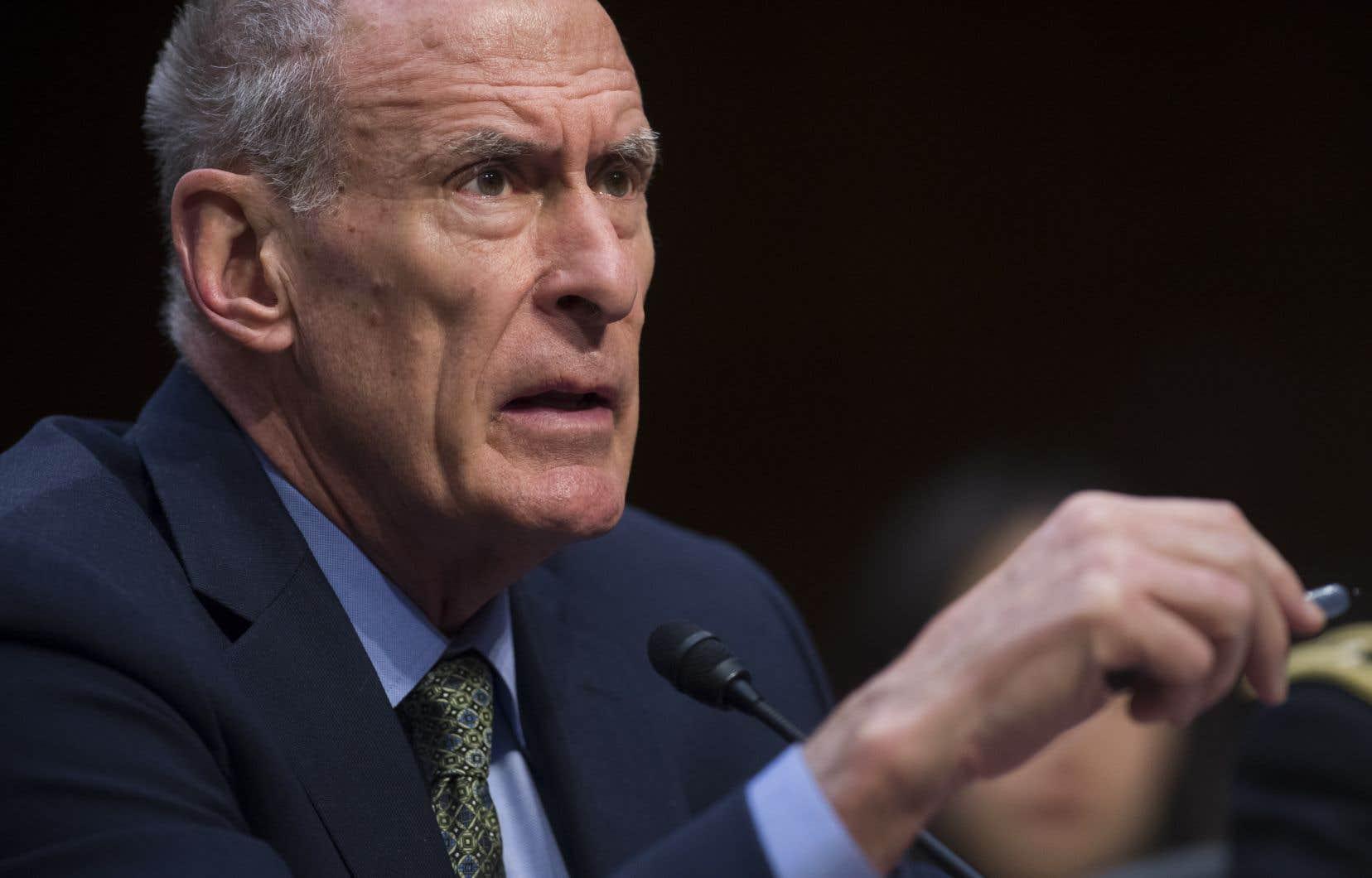 Le chef du renseignement national américain, Dan Coats, quittera son poste le 15 août.