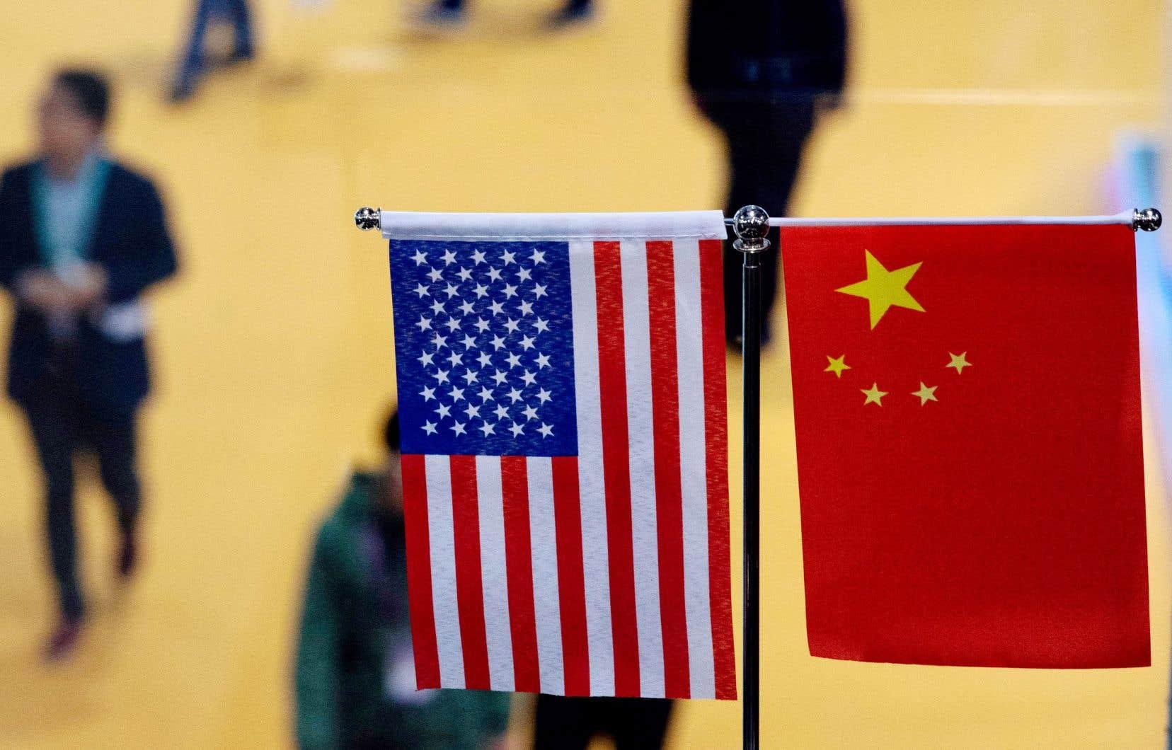 Pékin et Washington sont engagés depuis l'an dernier dans un bras de fer commercial qui s'est traduit par l'imposition réciproque de droits de douane punitifs portant sur plus de 360milliards de dollars d'échanges annuels.