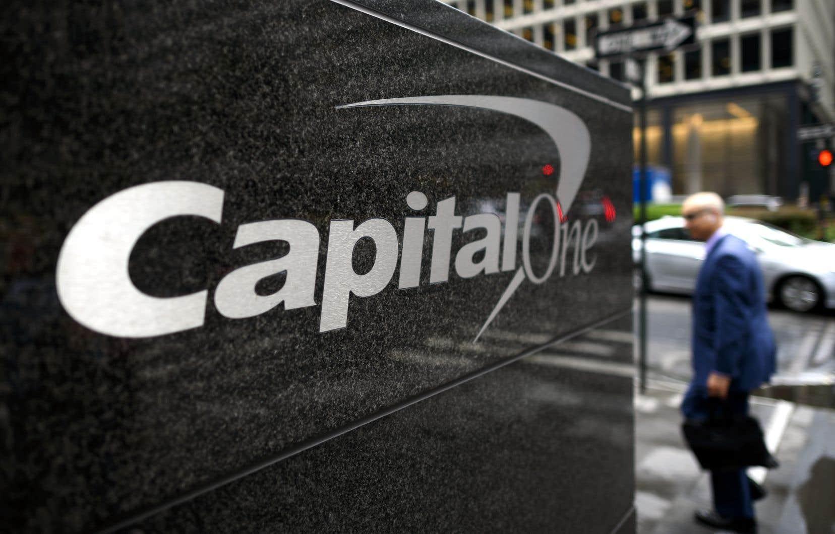 Les mesures d'aide aux victimes du vol de données personnelles pourraient coûter 150 millions à Capital One.