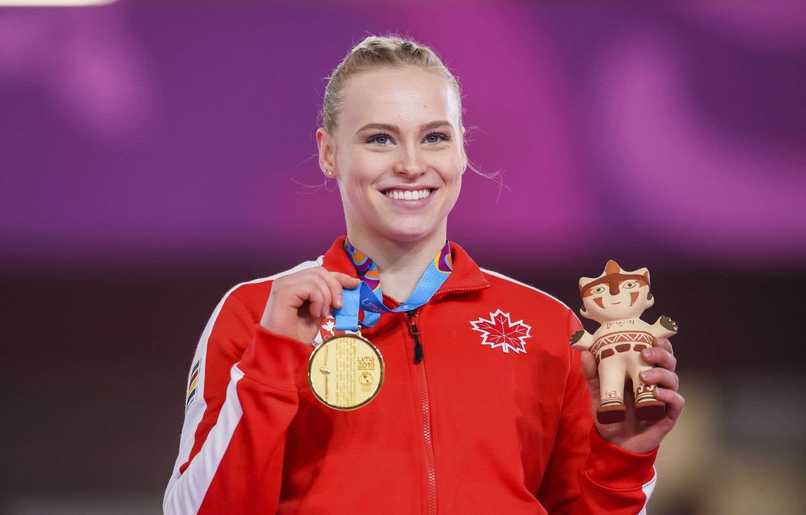 Ellie Black a remporté l'or au saut de cheval féminin, puis le bronze aux barres asymétriques ce mardi.