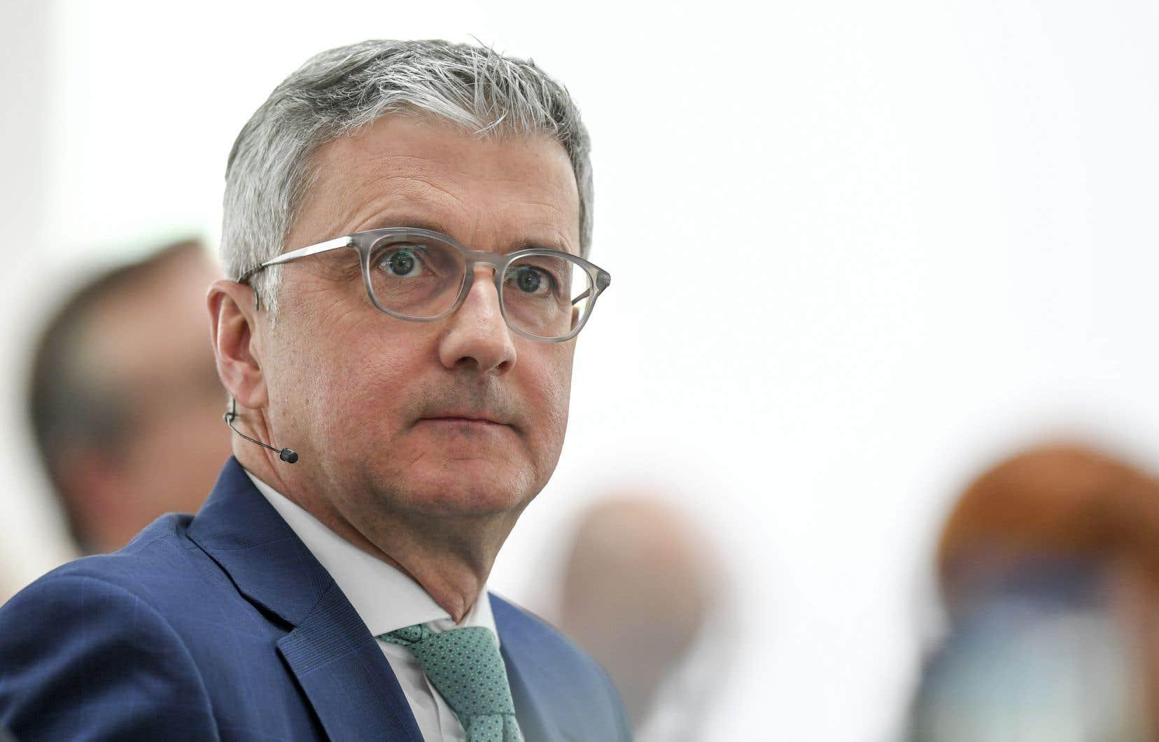 L'ancien patron d'Audi, Rupert Stadler,soupçonné par la justice allemande de chercher à influencer des témoins ou d'autres suspects.