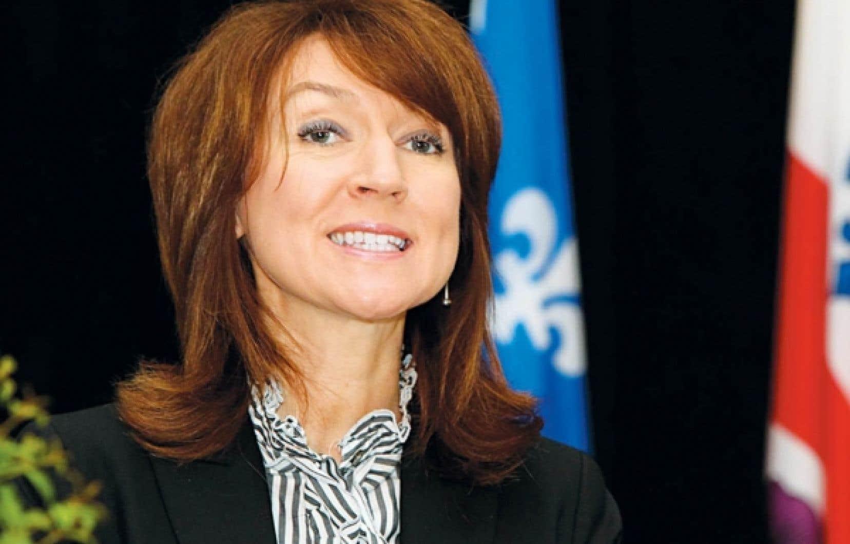 Nathalie Normandeau<br />