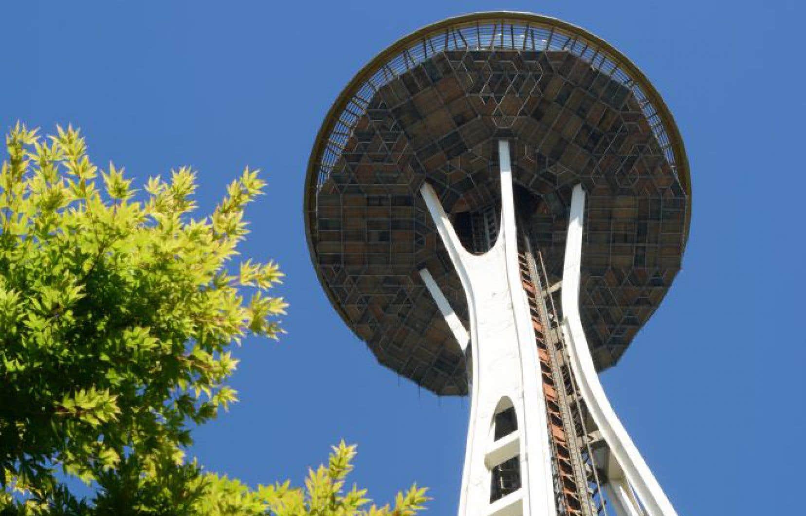 Le site de l'Exposition universelle de 1962 a été transformé en un grand parc où trône la célèbre «Space Needle».