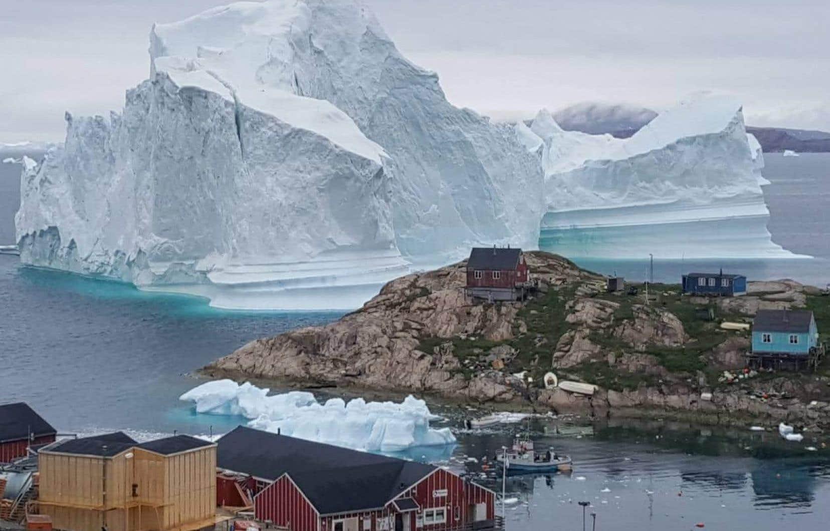 Au Groenland, plus de 80% du territoire est recouvert de glace.