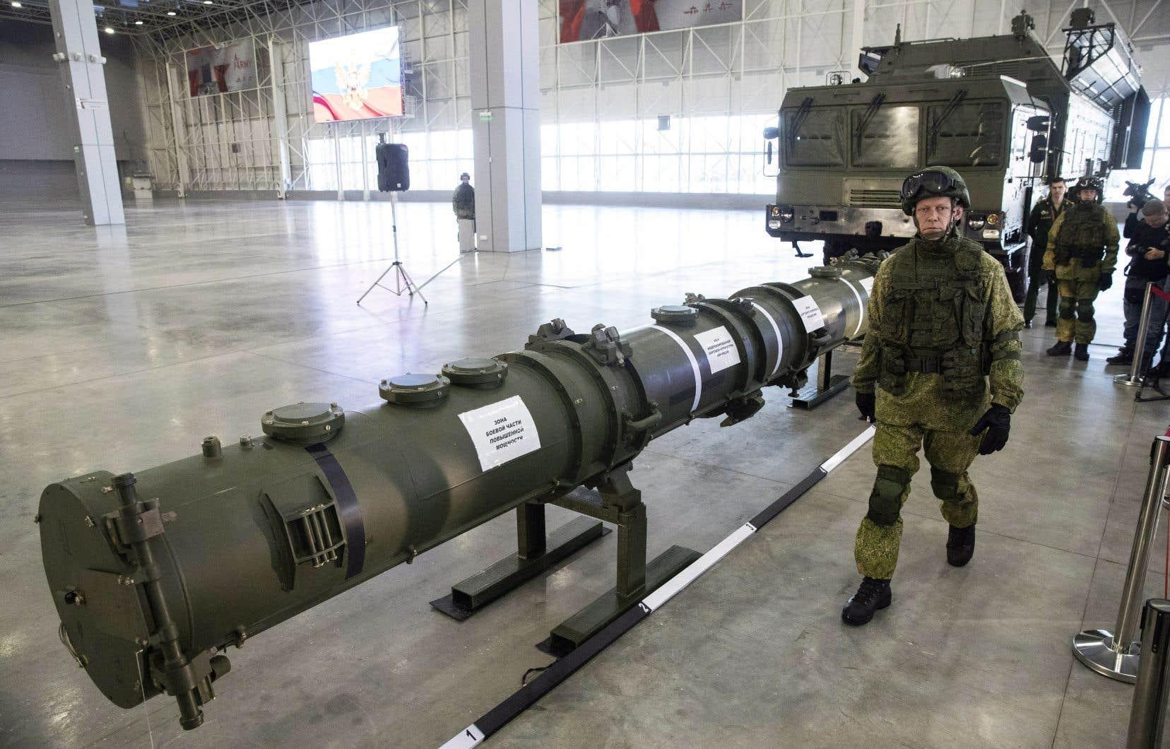 Washington avait suspendu début février sa participation au traité INF en accusant Moscou de fabriquer des missiles non conformes au traité.