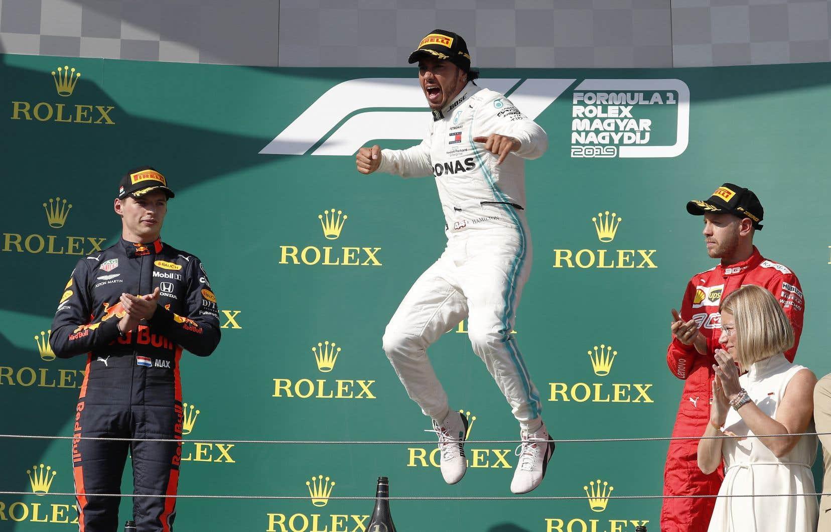 «Honnêtement, je ne savais pas si je pouvais réduire l'écart, a dit Hamilton. Je n'ai pas lâché. On aurait dit des qualifications, à chaque tour.»
