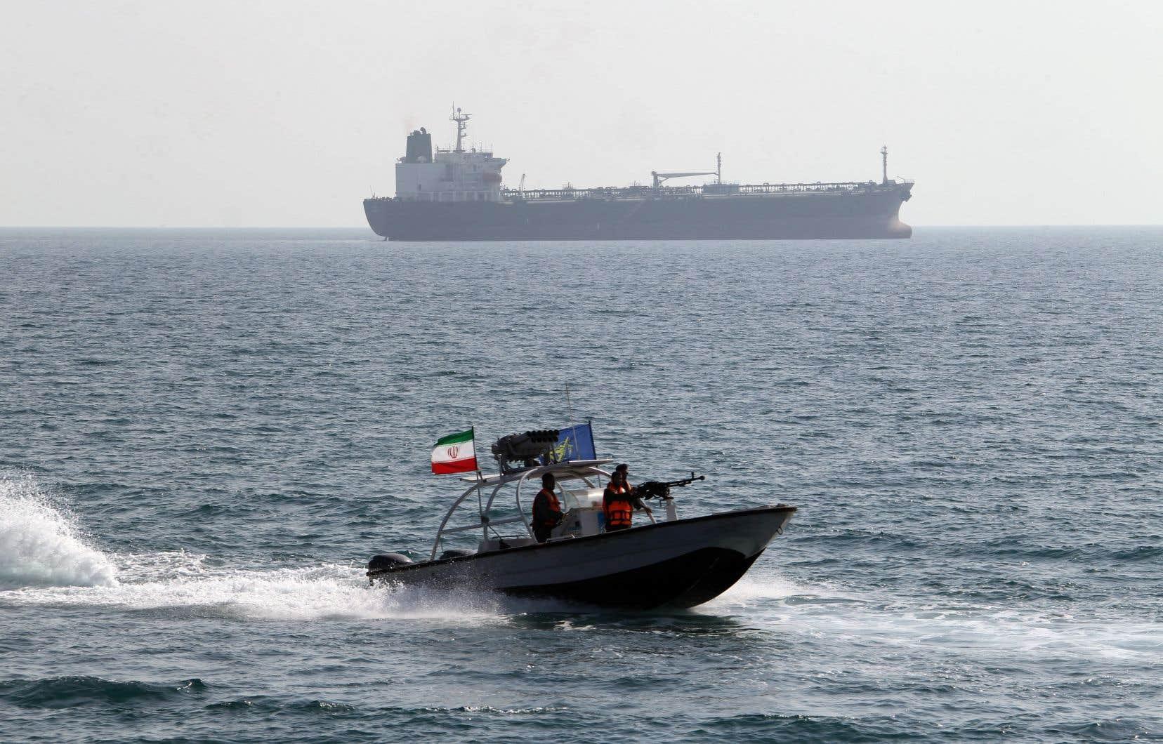 L'Iran a saisi un pétrolier étranger dans le Golfe, ont annoncé les médias le 4 août, lors de la troisième saisie de ce type en un mois, alors que la tension avec son ennemi américain était exacerbée.