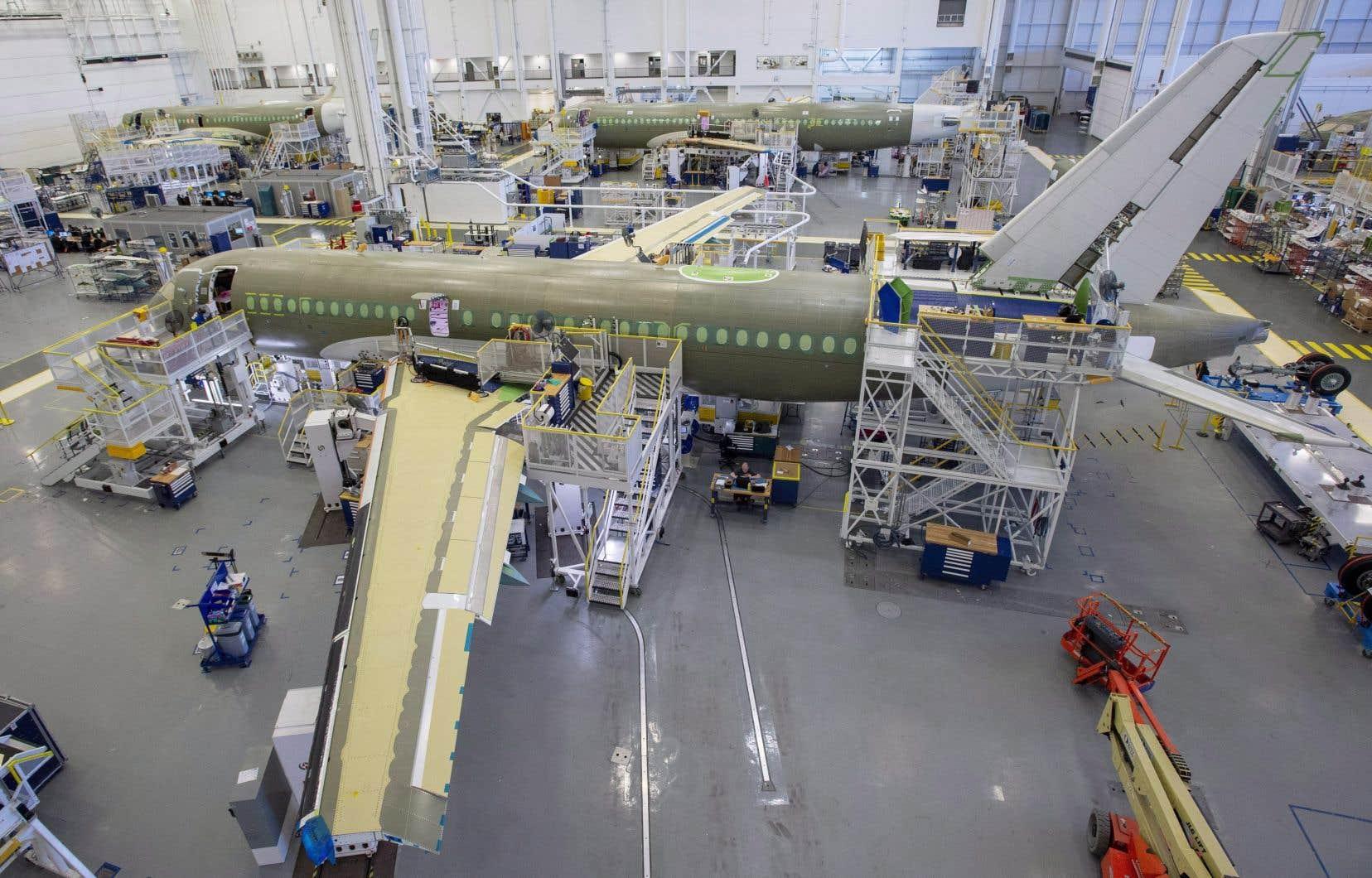 La livraison du premier A220 fabriqué aux États-Unis — un A220-300 destiné à Delta Air Lines — est prévue dans un an.