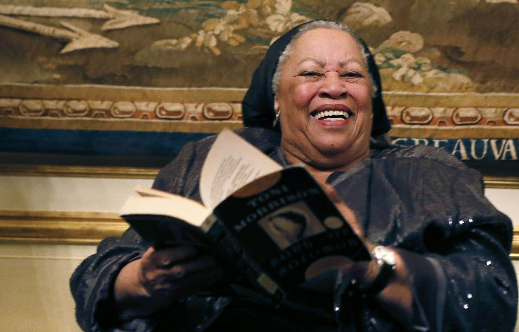 L'écrivaine afro-américaine Toni Morrison en 2012