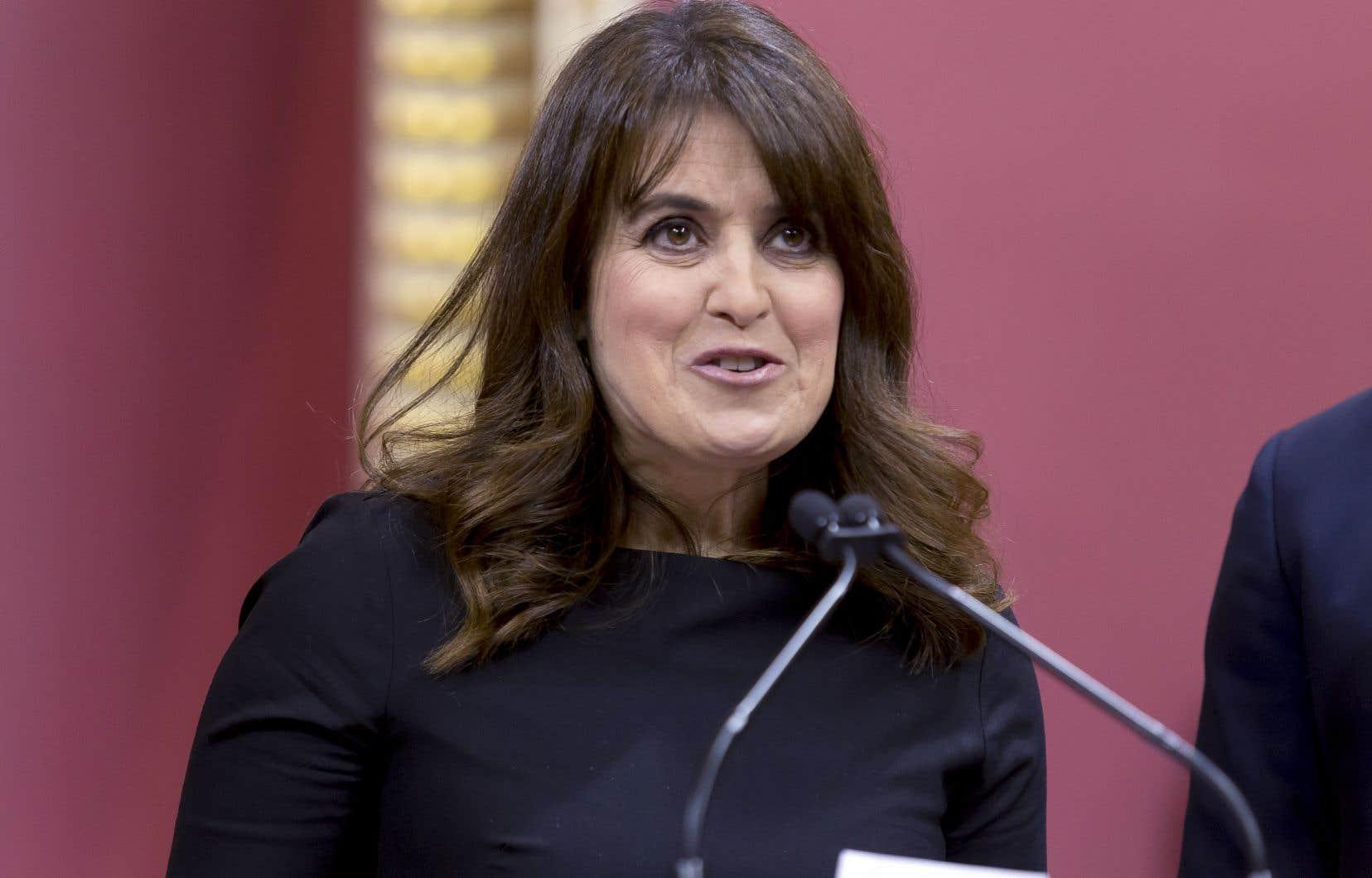 Véronique Hivon a annoncé mardi qu'elle ne sera pas candidate à la direction du Parti québécois.