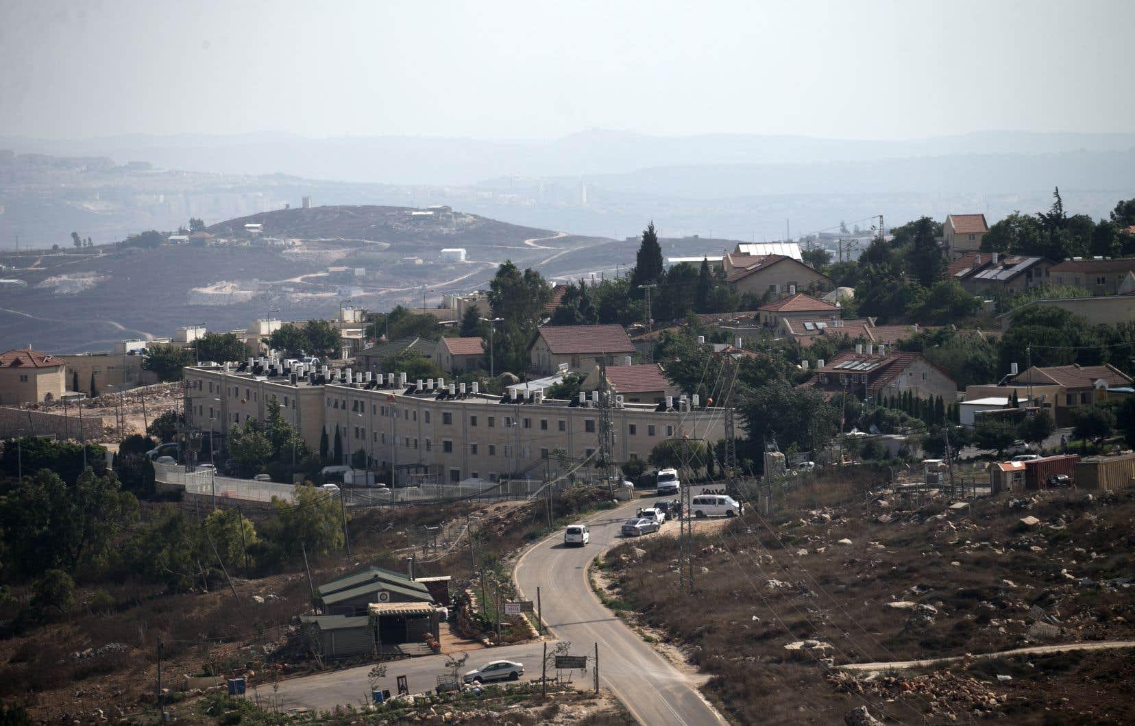 La colonie juive de Har Brakha, en Cisjordanie