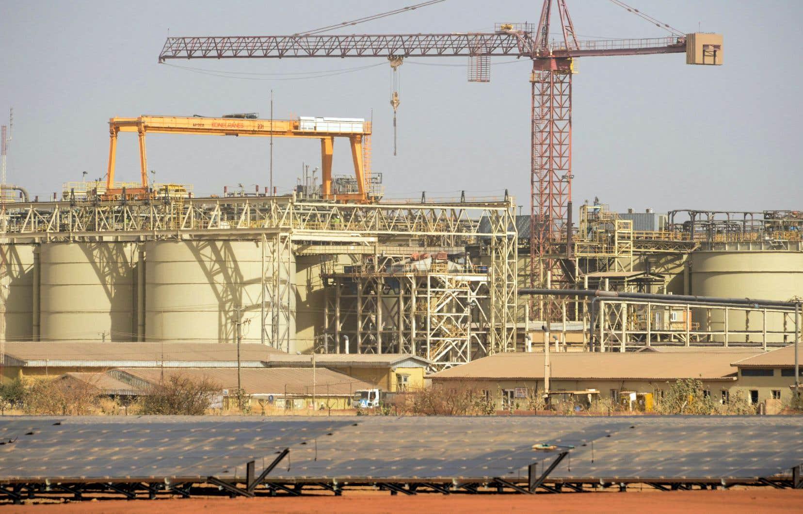 Iamgold exploite quatre mines d'or dans le monde.