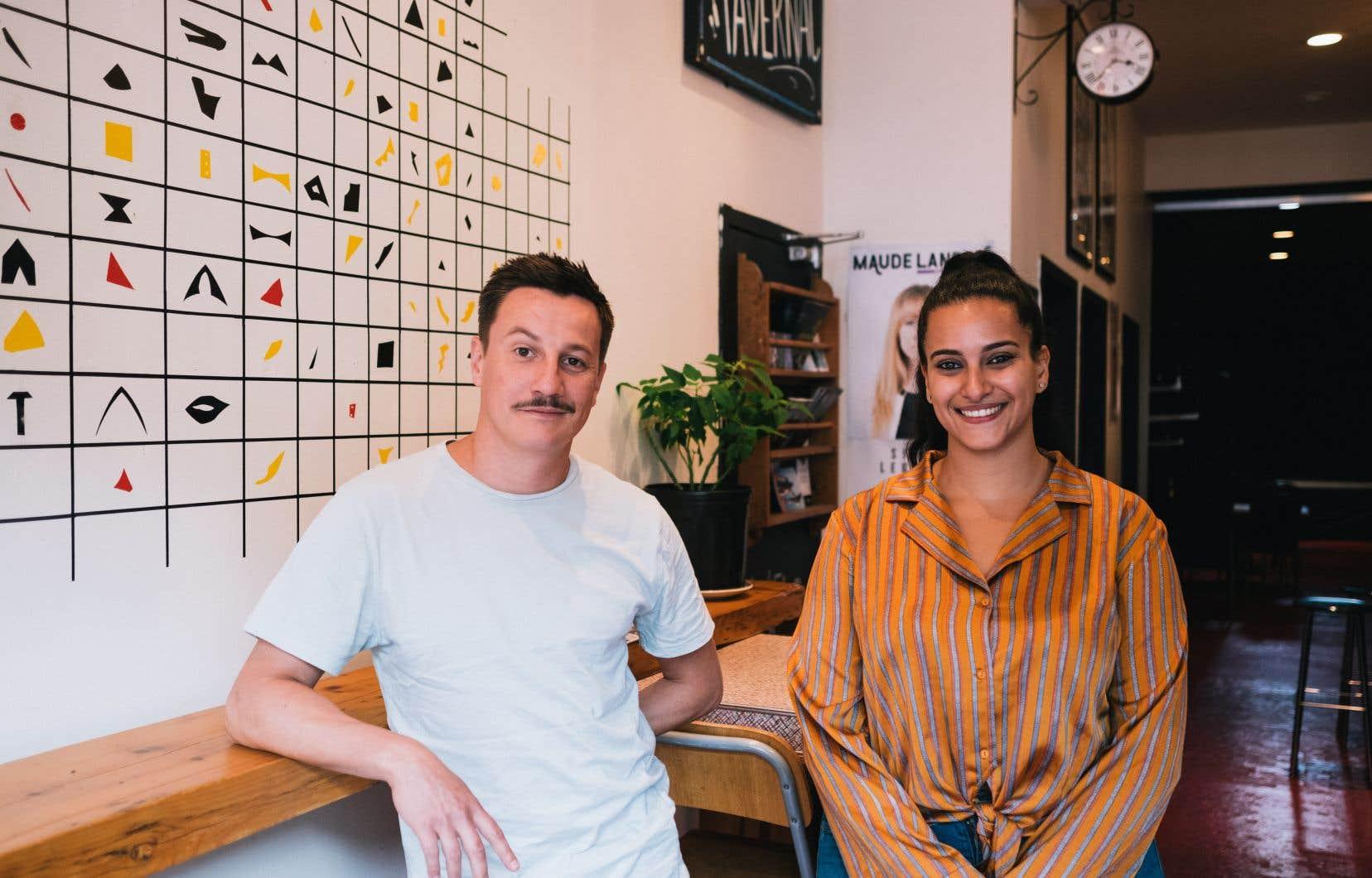 Maxime Vaché et Maissoun Alkhalidey veulent offrir une place aux différents visages que revêt aujourd'hui l'improvisation théâtrale.