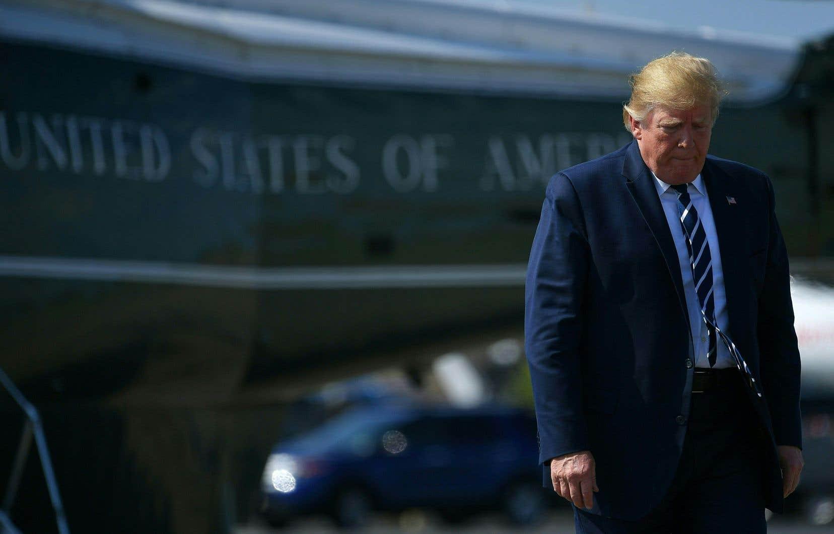 «On imagine mal Trump risquer de perdre sa réélection en 2020 sur une guerre aventureuse», estime l'auteur.