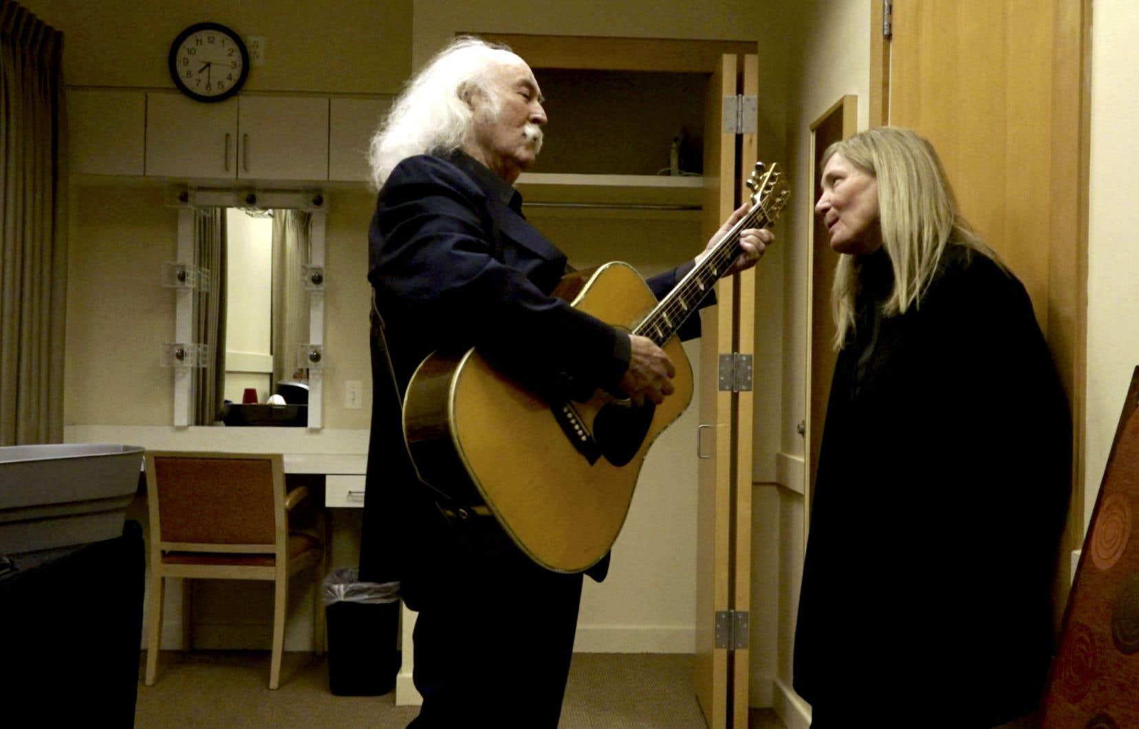 La voix angélique de David Crosby a survécu par miracle, malgré ses abus du passé et sa condition de diabétique qui font sourciller.
