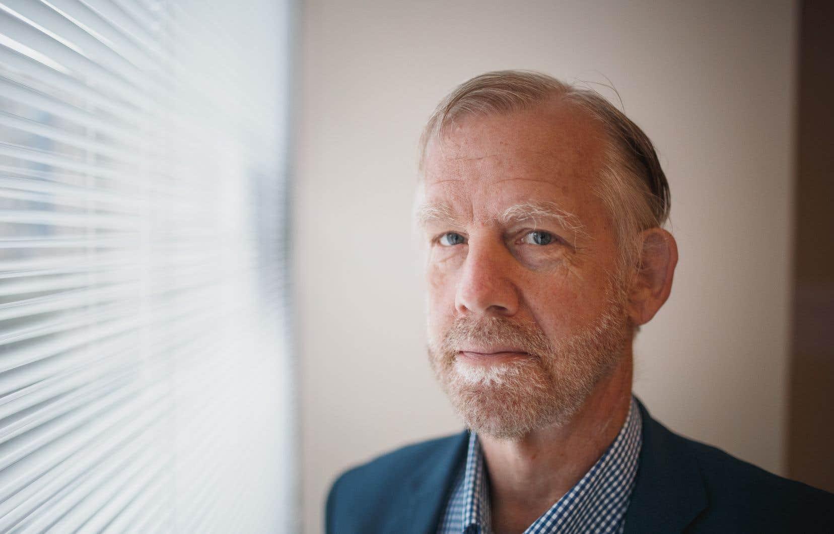Geoffrey Chambers, président du Quebec Community Groups Network (QCGN)
