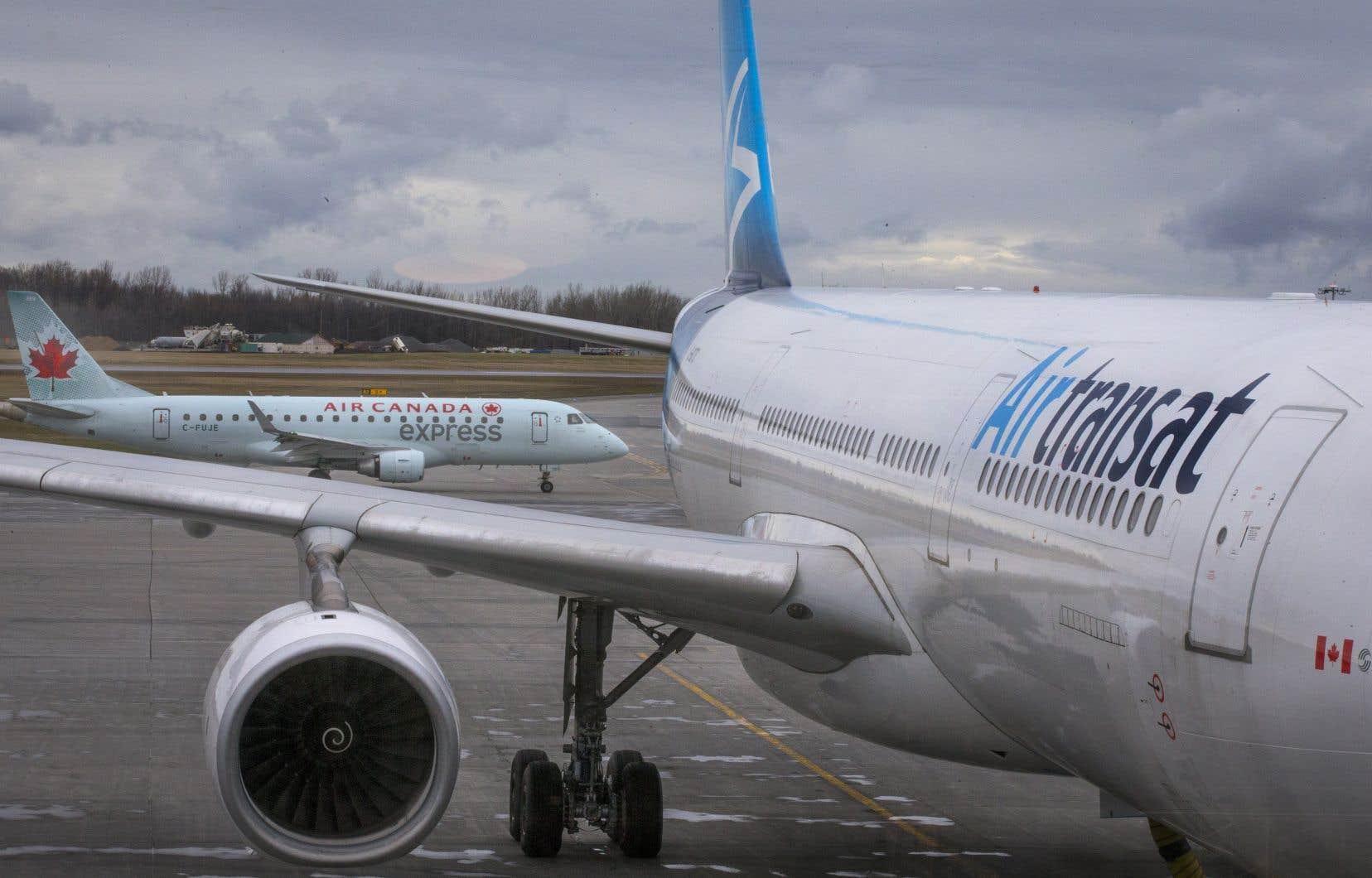 Air Canada a annoncé dimanche soir un nouveau prix d'achat total d'environ 720 millions de dollars, contre sa proposition initiale de 520 millions.