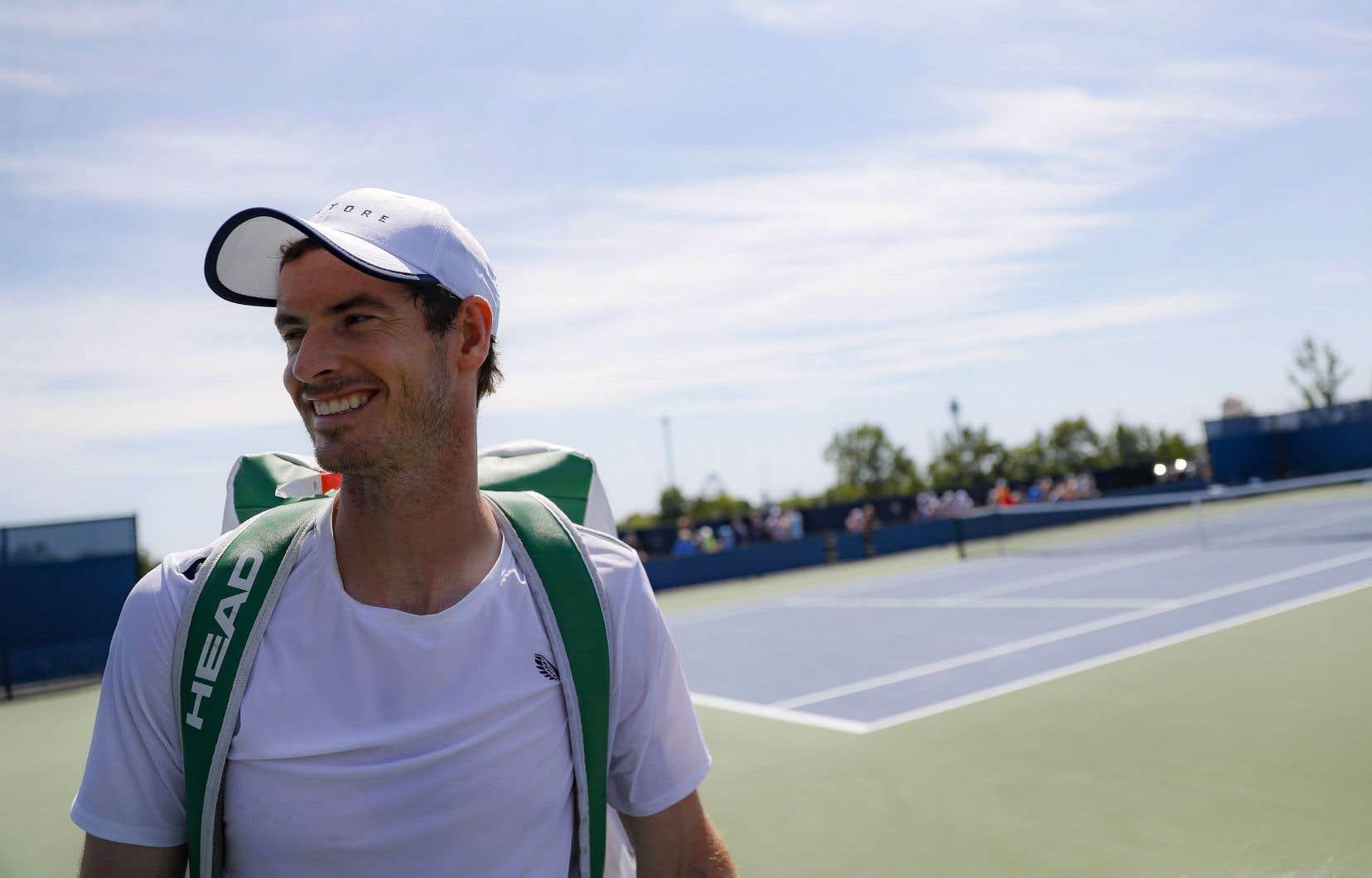 Quelques séances d'entraînement dans les dernières semaines ont donné à Andy Murray la confiance nécessaire pour lui permettre d'effectuer un retour au jeu. Il entend se servir de l'Omnium de Cincinnati comme d'un tournoi baromètre.