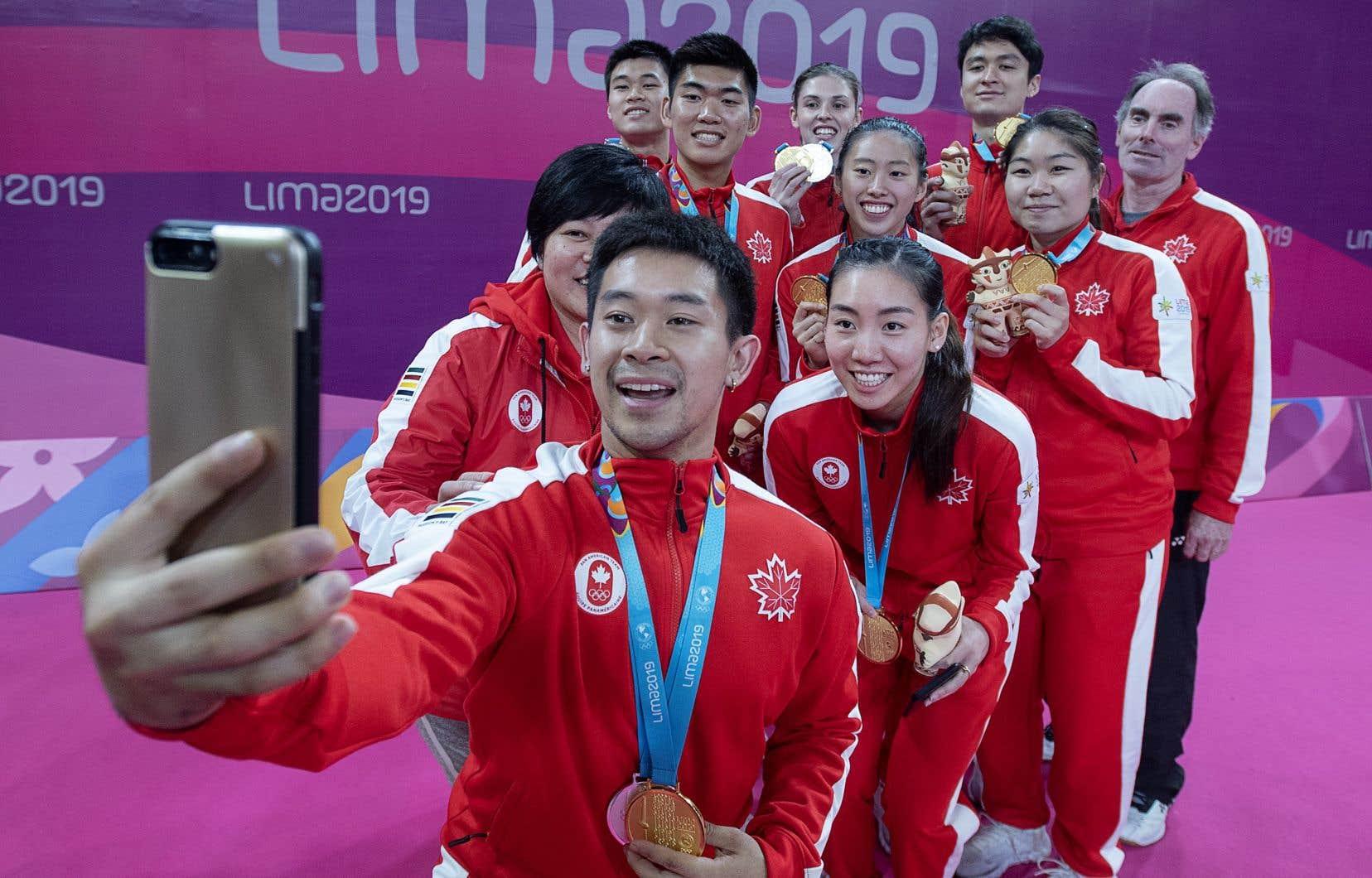 Le Canada a fini troisième avec 152 médailles (35 d'or, 64 d'argent et 53 de bronze), contre 217 médailles il y a quatre ans.