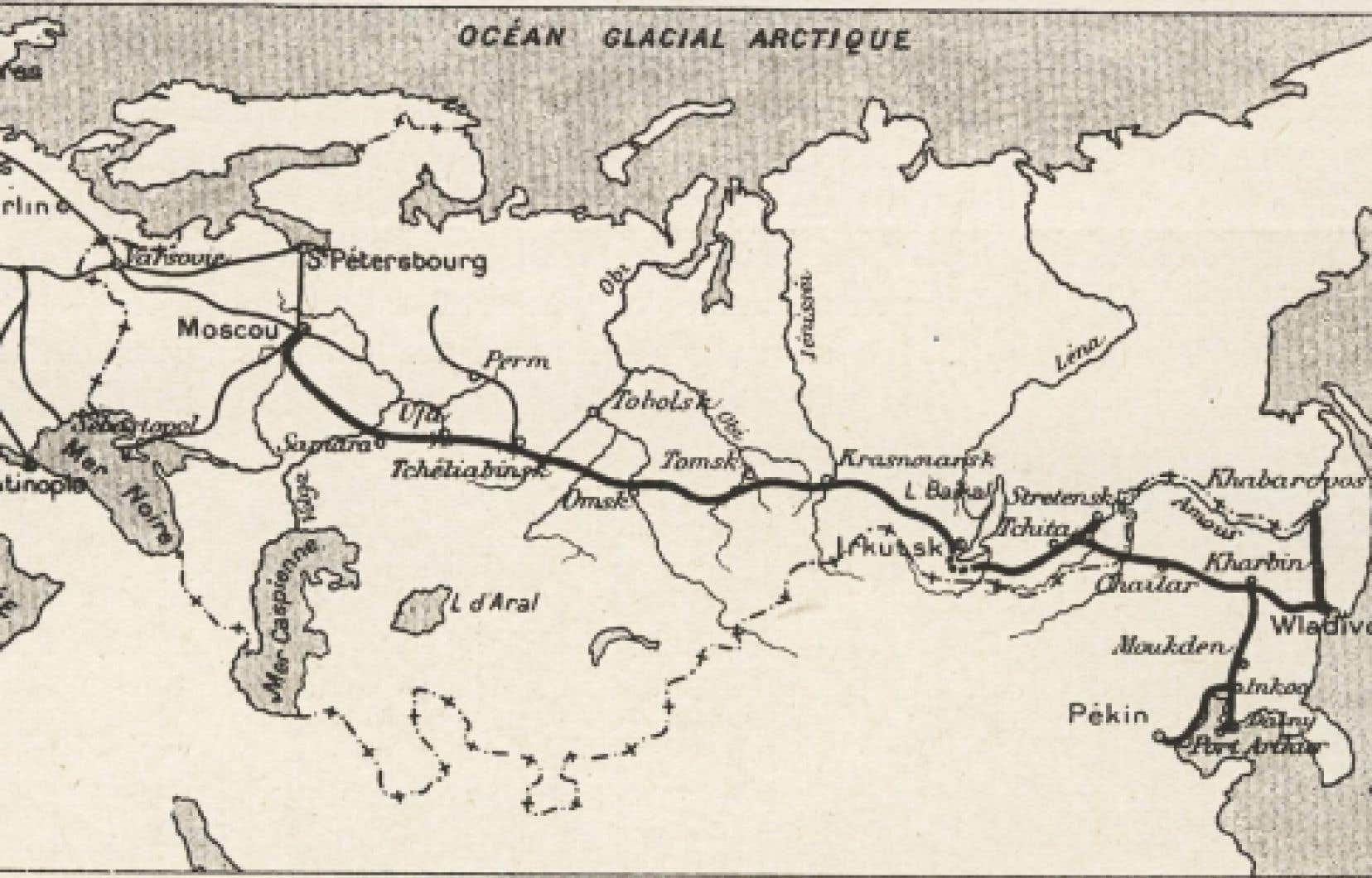 La route du célèbreTranssibérien