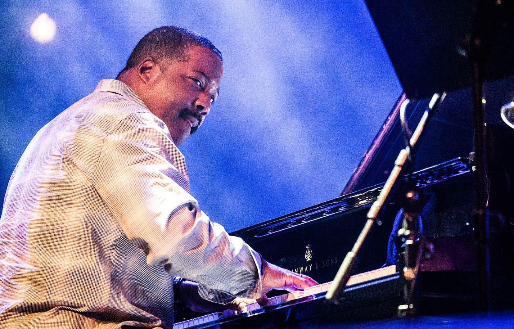 Le pianiste Eric Reed en concert en 2015 au Festival Moers