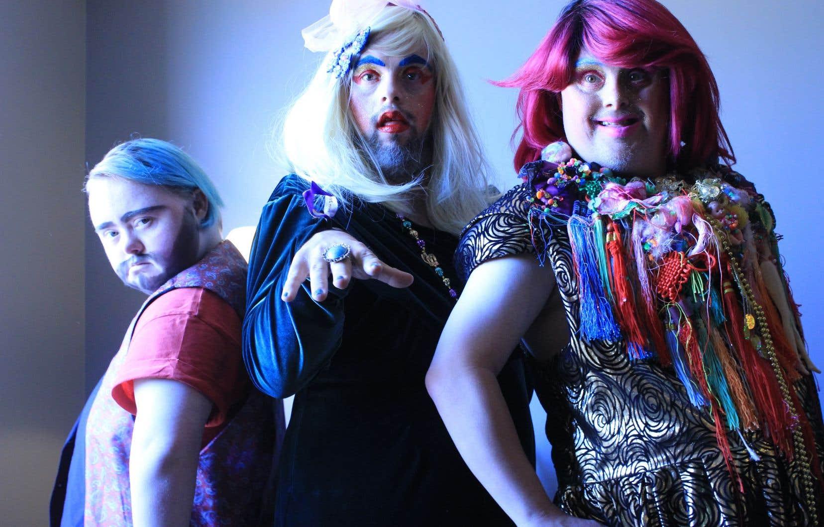 Derrière les perruques, le strass et les maquillages, une certaine conception de la dignité humaine précède la formation de Drag Syndrome.