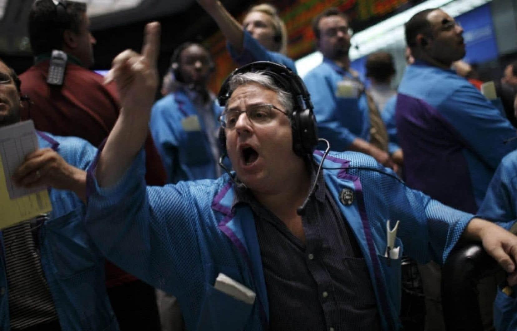 À la Bourse, c'est encore l'attentisme qui domine.<br />