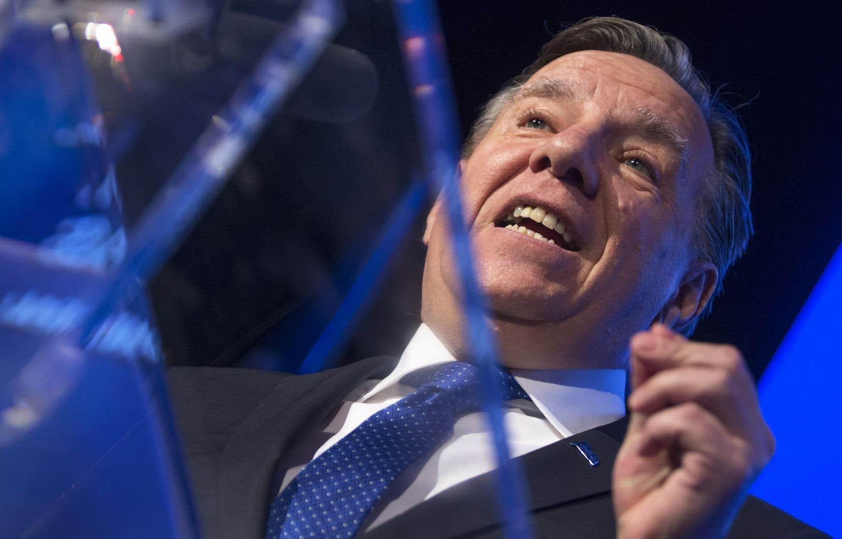 Le premier ministre du Québec, François Legault