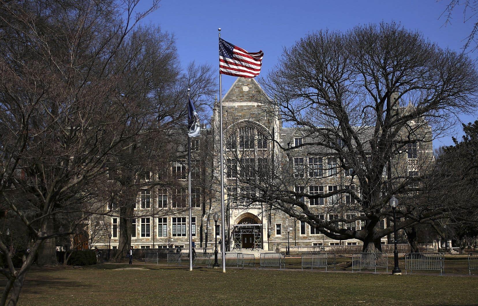 L'Université Yale, aux États-Unis, compte parmi les plus demandées chez les futurs étudiants chinois.
