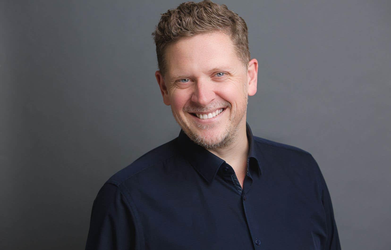 Le nouveau directeur général du Festival international de la chanson de Granby,Jean-François Lippé