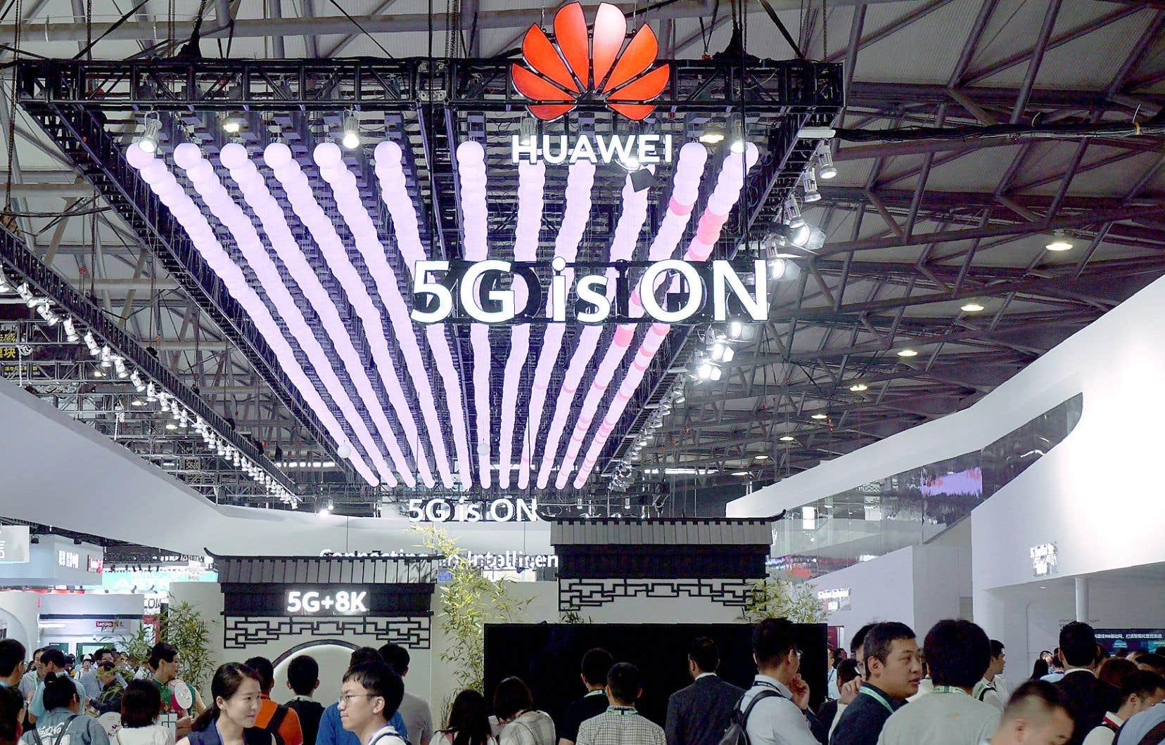 L'administration Trump avait placé Huawei sur une liste noire en mai.