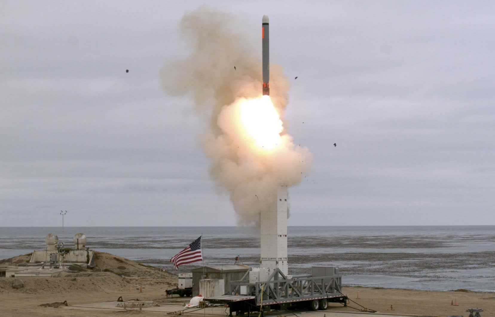 L'essai, réussi, a été effectué dimanche depuis l'île de San Nicolas, au large de la Californie, à 14h30 (17h30 à Montréal), selon le Pentagone, qui a précisé qu'il s'agit d'une «variante d'un missile de croisière d'attaque sol-sol Tomahawk».