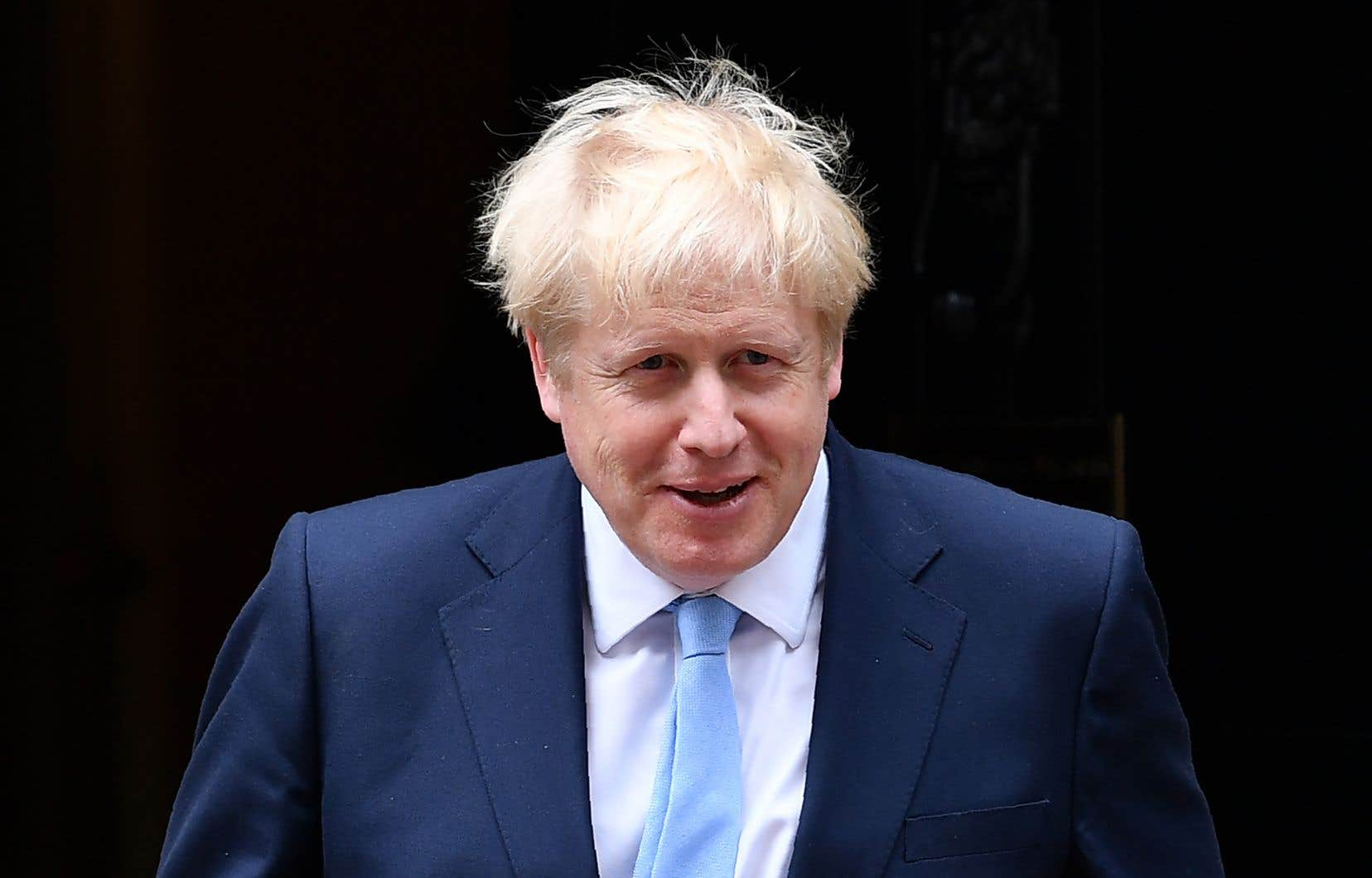 Le premier ministre britannique, Boris Johnson