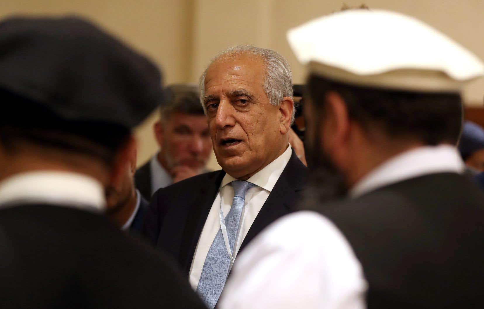 «Nous essaierons de conclure» les pourparlers «sur les sujets qui restent» à résoudre pour boucler un accord, a déclaré le principal négociateur américain, Zalmay Khalilzad.
