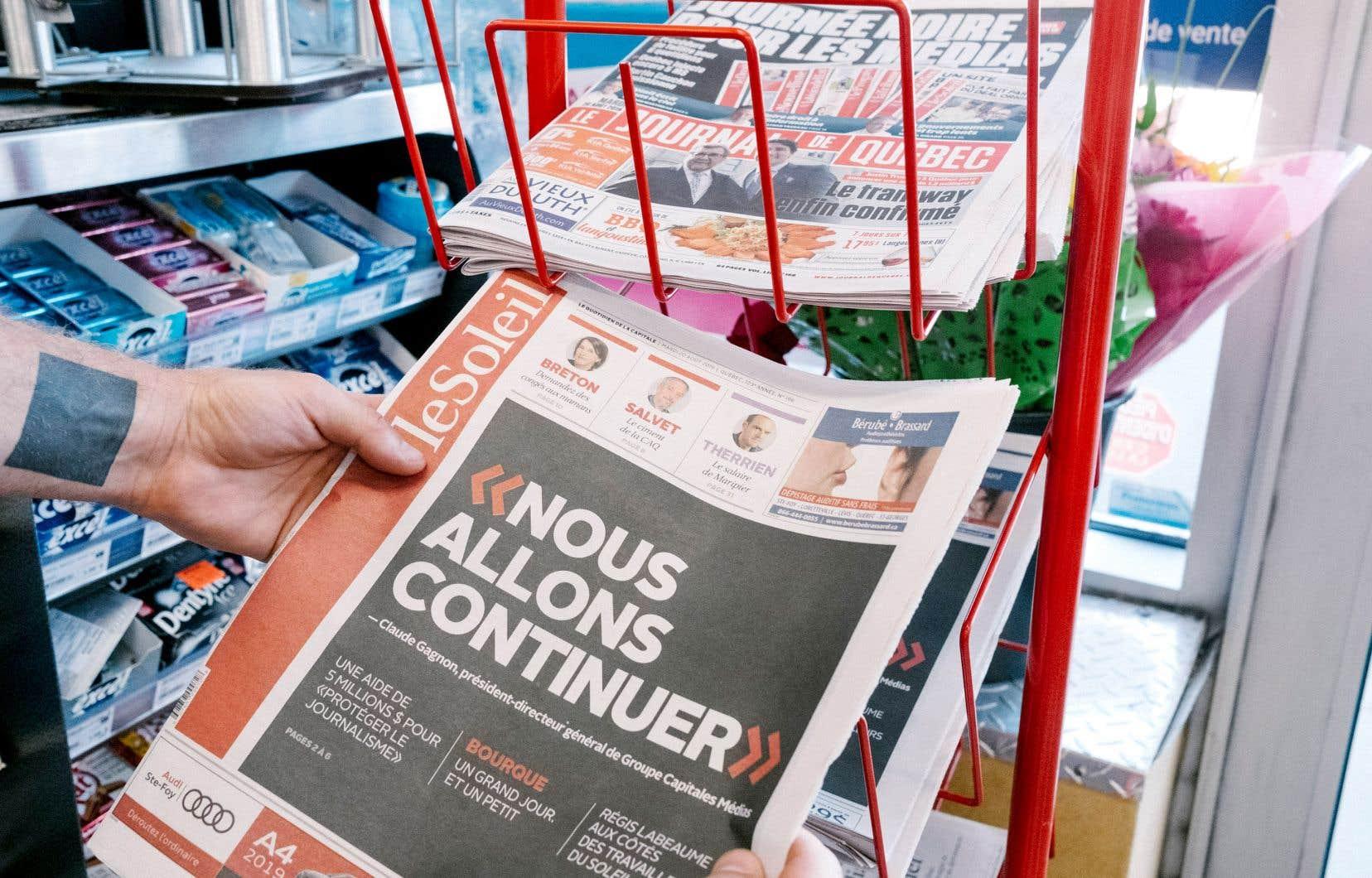 On peut espérer que, de tous les scénarios évoqués ces derniers jours pour permettre la survie des journaux de Capitales Médias (et il y en a beaucoup, incluant certains où «Le Devoir» serait concerné), l'un se démarque pour les bonnes raisons et soit retenu.