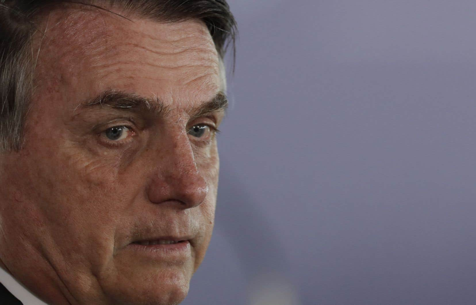 Le président du Brésil, Jair Bolsonaro