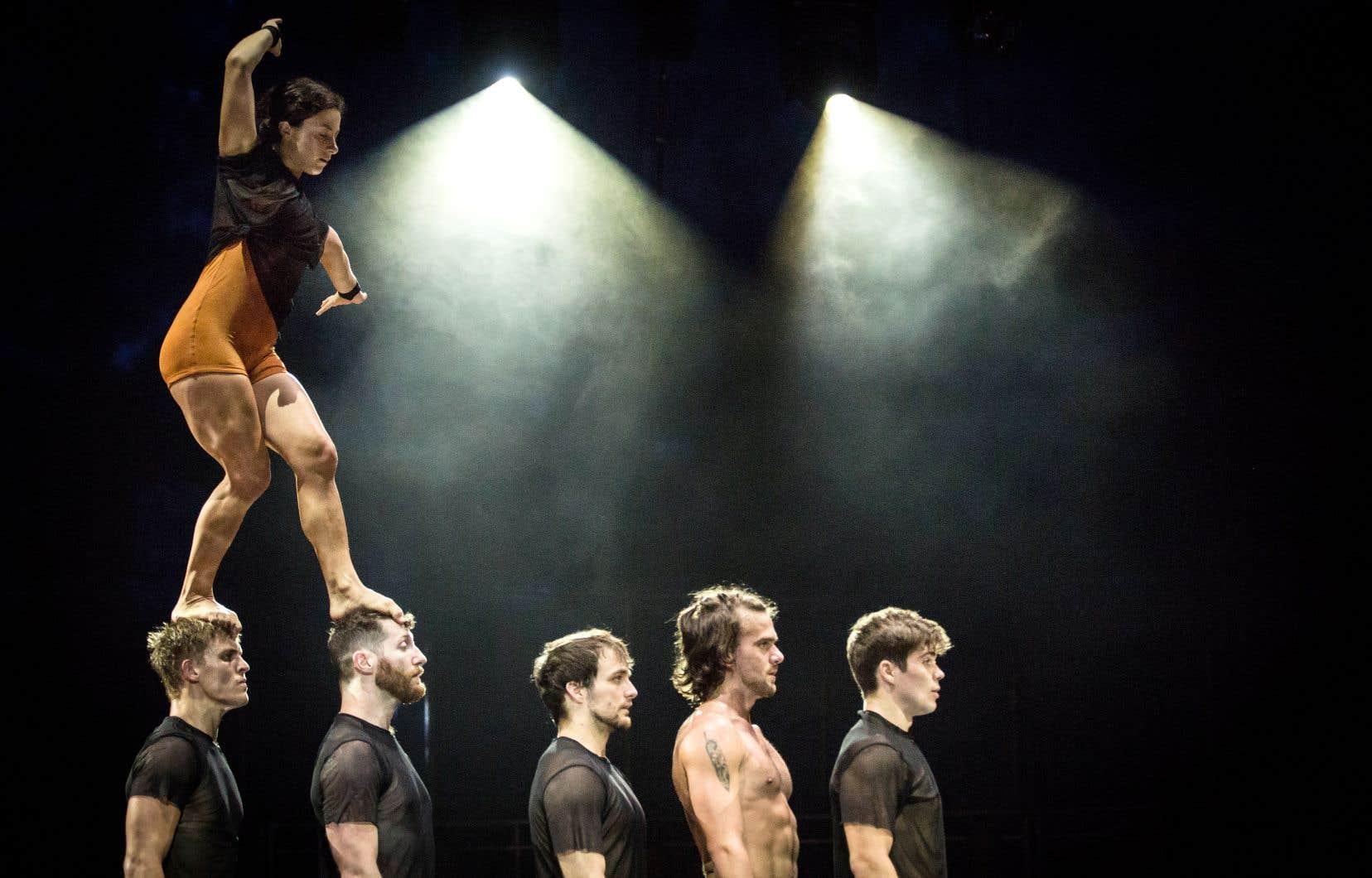 C'est le retour en piste attendu de Circa à Montréal, troupe phare et chouchou du cirque contemporain.