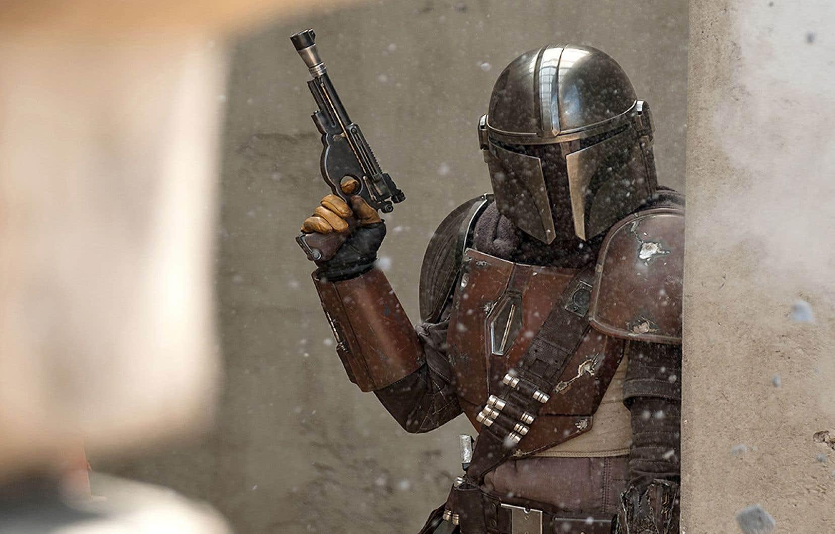 «The Mandalorian» est une série dérivée de Star Wars, présentée par Disney +.