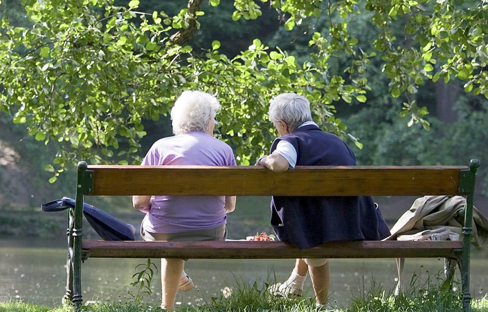 Le réchauffement climatique touche les aînés, comme l'ensemble de la population.